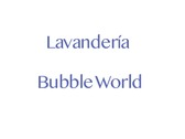 Lavandería Bubble World